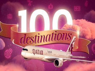 קטאר איירווייס מגדילה את רשת הטיסות ל -100 יעדים