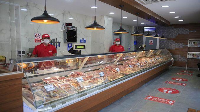 Serik Public Meat Store Started Sales