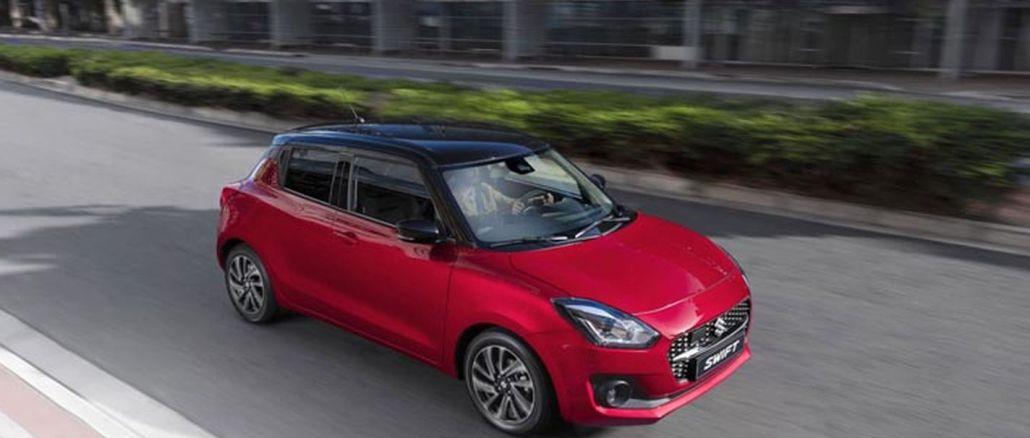 Suzuki Swift Akıllı Hibrit Teknolojisi İle Piyasalarda