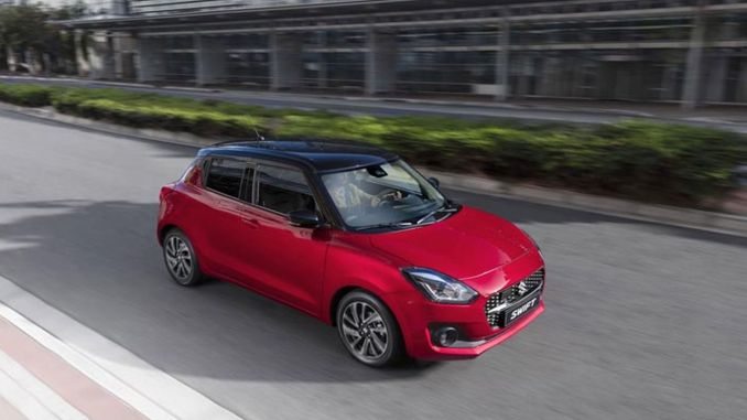 Suzuki Swift er på markedet med Smart Hybrid Technology