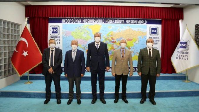 ممثلو TÜRASAŞ يستعرضون التطورات في قطاع السكك الحديدية!