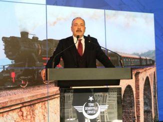 Het strategische belang van de IJzeren Zijderoute werd besproken tijdens de Turkse spoorwegtop