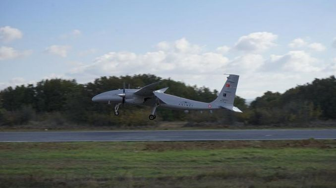 Akıncı TİHA Successfully Performed Fully Autonomous Landing and Take-off