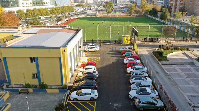 ankaragucu sports club tandogan facilities are being renovated