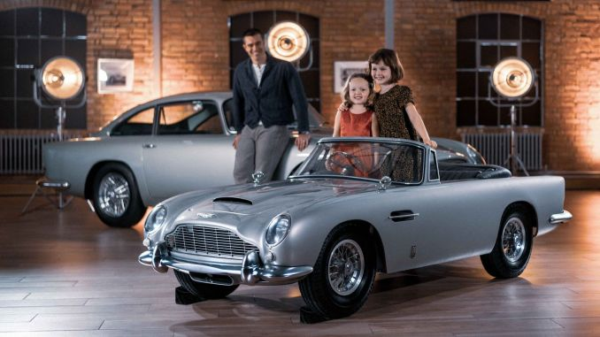Aston Martin DB5 Junior is coming to Turkey