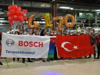 Boschi termotehnika teeb rekordi kombikatelde igapäevases tootmises
