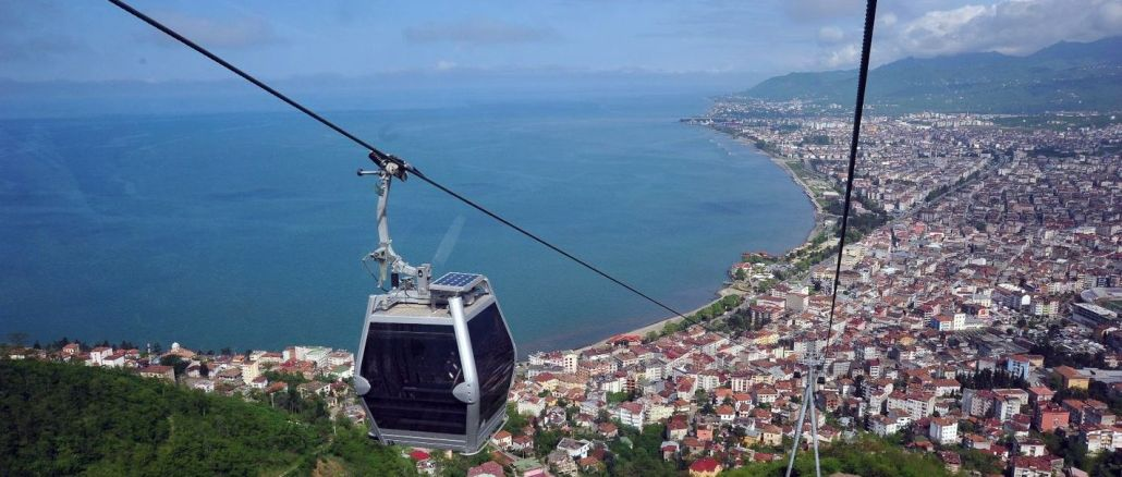 Maintenance Works of Boztepe Cable Car Line Completed