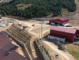 Çambaşı 스키 시설 주변에 1.100 그루의 나무 심기