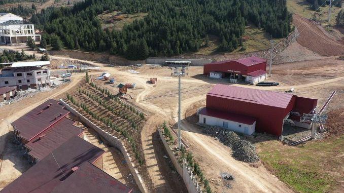 1.100 Trees Planted Around Çambaşı Ski Facilities