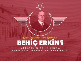 we commemorate the father of the railways, behic's power, with respect and mercy
