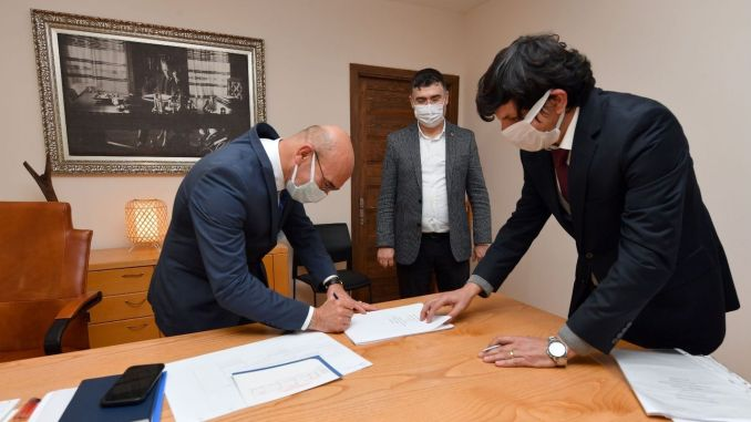 Signatures were signed for the transformation of the Aegean neighborhood