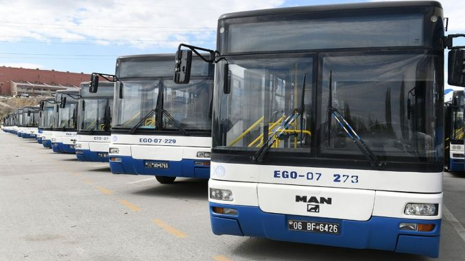 ego bus hours have been rearranged according to changing working hours