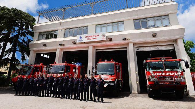 Istanbul Buyuksehir kommun kommer att rekrytera brandkåren
