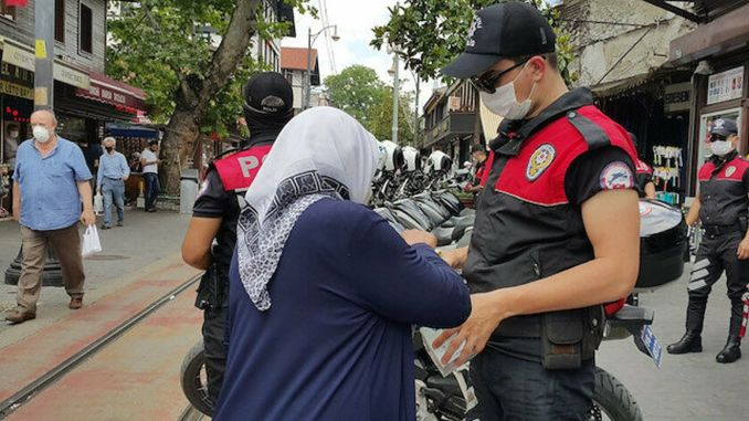 Age restriction was imposed in istanbul and ankara