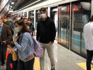 Persentase transportasi umum di Istanbul meningkat pada akhir pekan