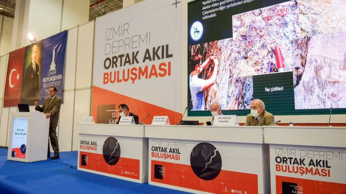 Izmir earthquake brought together scientists of common mind meeting