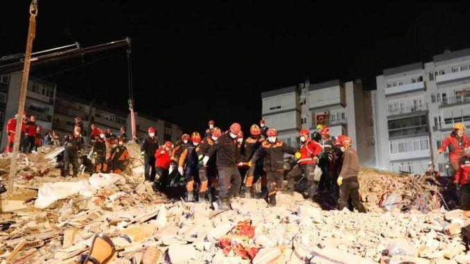 İzmir Seferihisar Earthquake Current Situation 114 Dead, 1035 Injured and 2.124 Aftershocks