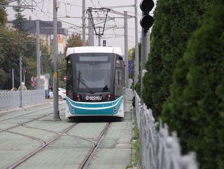 Kocaelin kaupunginsairaalan raitiovaunulinjan rakentaminen alkaa