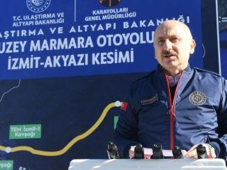 Põhja-Marmara maantee projekt hõlbustab Marmara piirkonna transporti