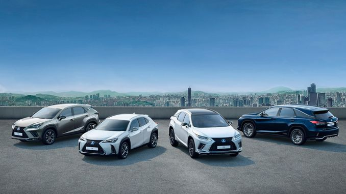 lexus adds another reliability and trouble-free award