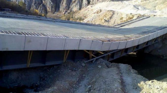 גשר הקלקוי, שעלה מיליון לירות, נותר ללא חירום