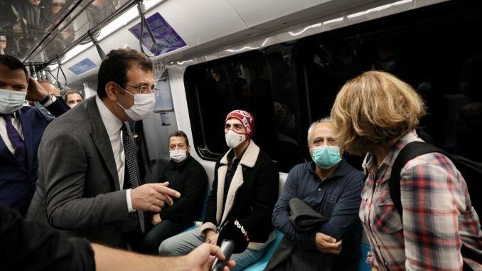 Podzemna željeznica Mecidiyekoy mahmutbey smanjila je teret metroba tisuću dnevno