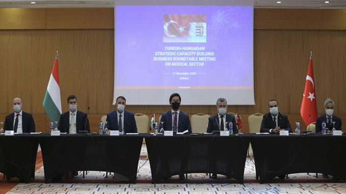 Turkish Hungarian partnership discussed on medical industry and medical devices