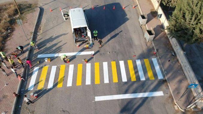 omfattende aktivitet for trafik og fodgængersikkerhed i Mersin