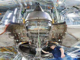 Roll Royce'i testimine säästva lennukikütuse protsentides