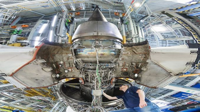 roll royce testing percent sustainable aviation fuel