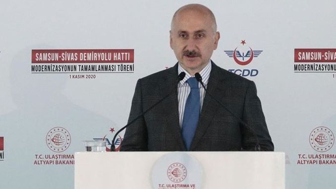 Samsun Sivas Railway Line Has Become Much More Comfortable, Safe and Secure