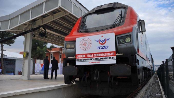 Samsun Sivas Will Accelerate Railway Transportation