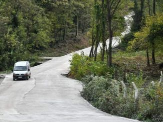 Concrete road comfort increases in Samsun
