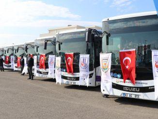 Anforderungsdauer des HES-Codes im öffentlichen Verkehr in Şanlıurfa verlängert