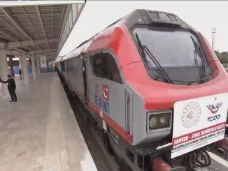 What was Renewed in Sivas Samsun Railway Modernization Works?