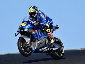 แชมป์ Suzuki ใน motogp หลังจากหยุดพักหนึ่งปี