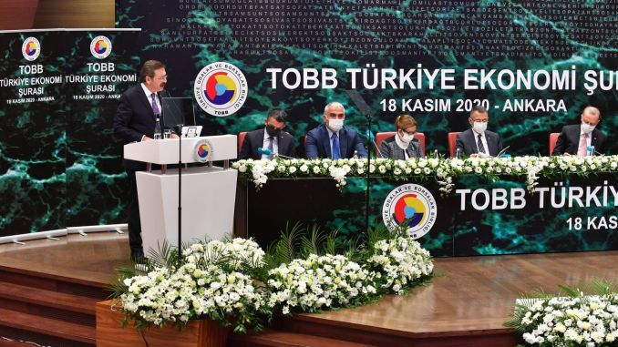 Aksaray railway was mentioned during tobb economy