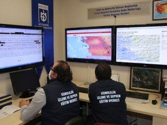 Коцаелиден туркииеде треба прво успоставити пре него што стигне на земљу како би се предузеле земљотресне мере