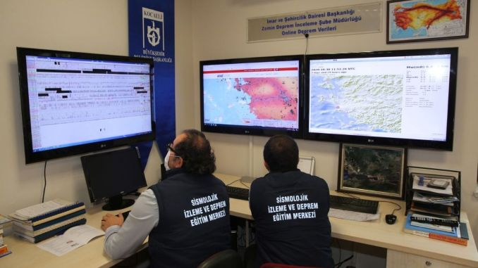 Kocaeliden turkiyede to be established first before reaching the earth to quake measures to be taken