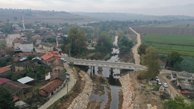 Söylemiş Bridge Connecting 5 Neighborhoods in Yenişehir was Opened