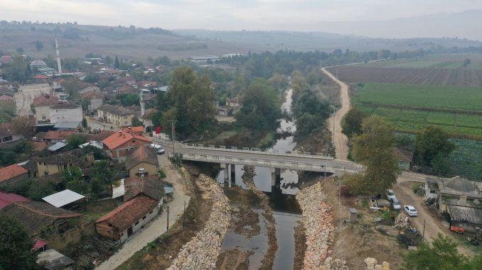 Yenişehir'de 5 Məhəlləni Birləşdirən Söylemiş Körpüsü Açıldı