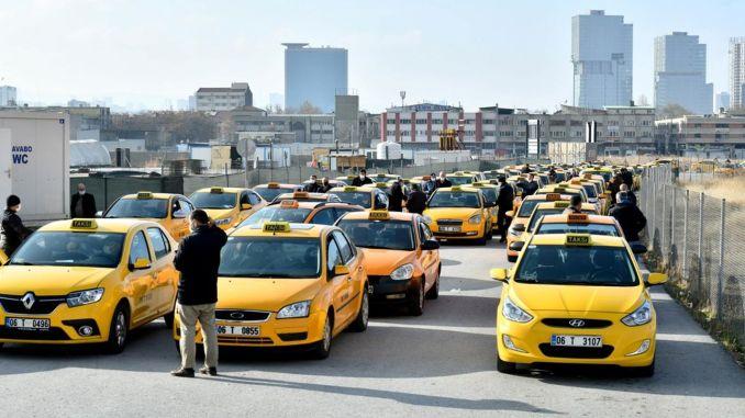 ankara metropolitan municipality continues to support taxi drivers