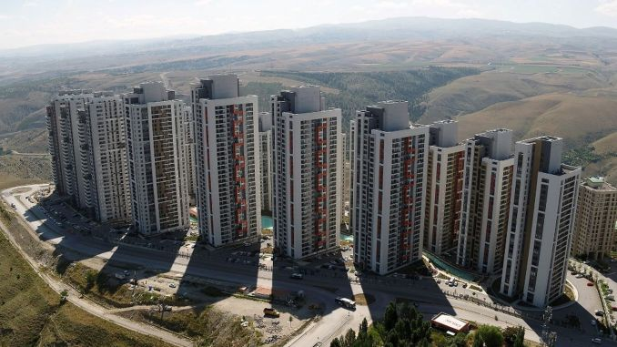 ankara buyuksehir residences are ready for sale with prices starting from thousand TL