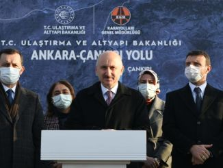 When the Ankara Cankiri road is completed, it will become more safe and comfortable