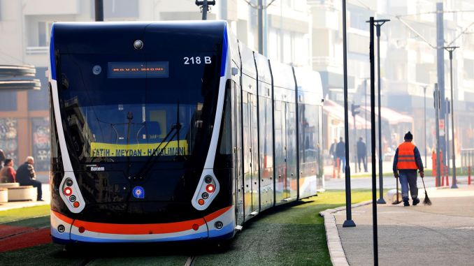 money of the antalya etap rail system built by the ministry was cut from the municipality