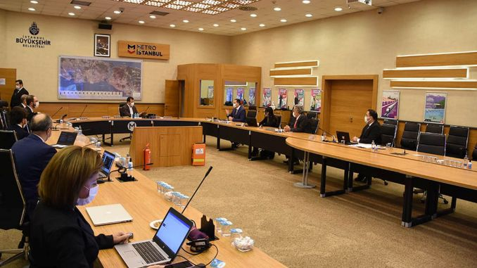 visit from the president ekrem imamogl to metro istanbul