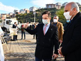 Başkan Zoroğlu obavio je preglede na novom području autobuskog kolodvora