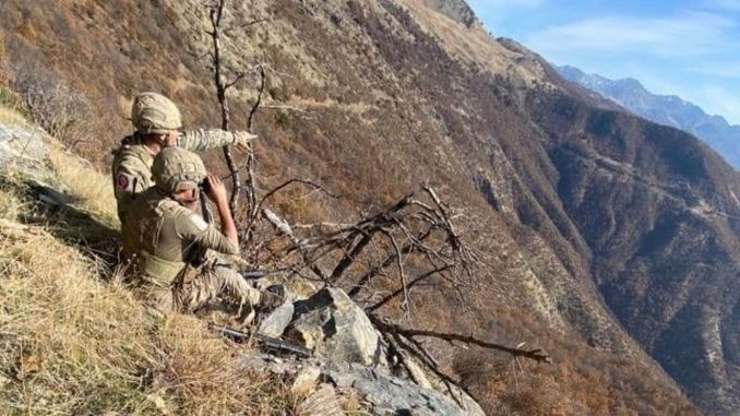 Yildirim city forests operation started in bitlis province