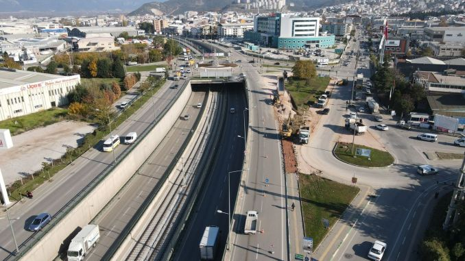 Smart touch to bursa kestel crossroad will increase by a percentage of its capacity