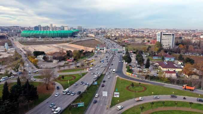 Another node was solved at the crossroad of novices, the key point of Bursa traffic